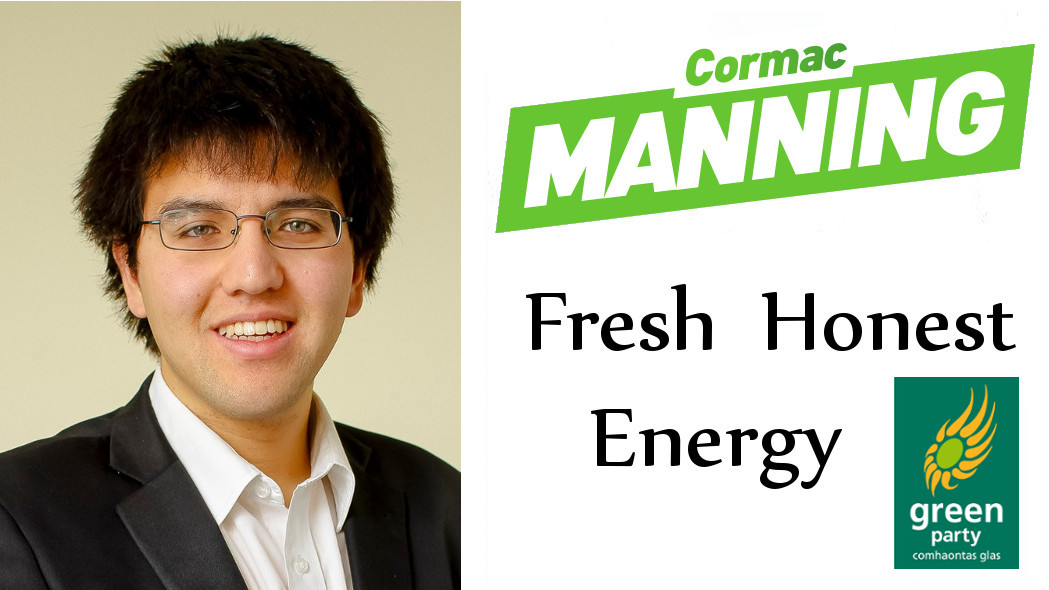 Cormac Manning – Green Party Cork North West